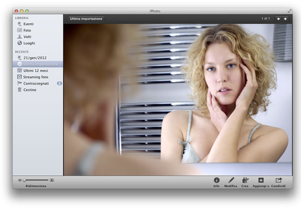 modificare foto con Mac
