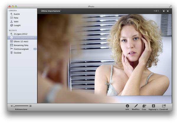 modificare foto con Mac