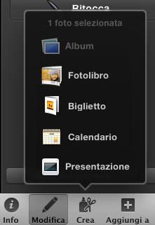 Crea foto Album Mac