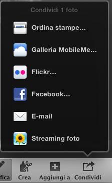 Condividi foto e ordina stampe Mac