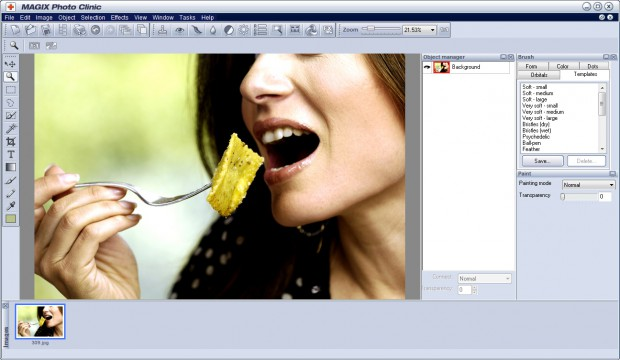 magix photo clinic screenshot