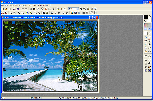 modificare foto con windows