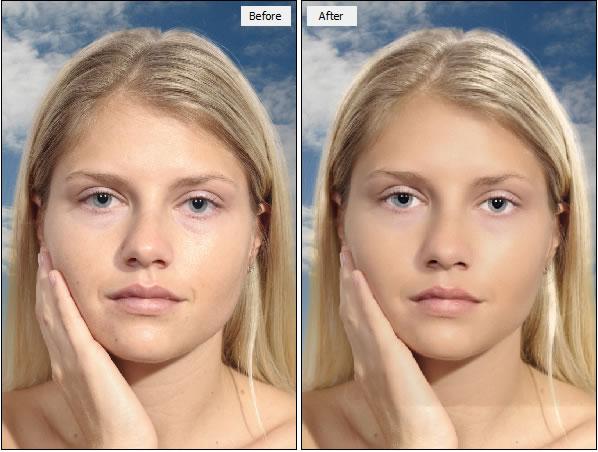 modificare foto viso